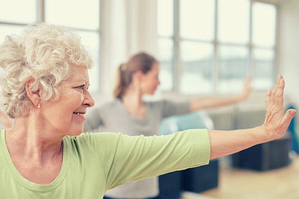 Seniorenyoga 60+ Ausbildung mit Sabine Klein bei Spirit Yoga Berlin